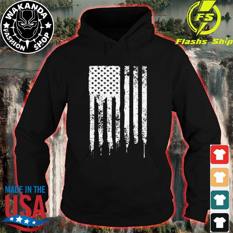 4th of july American flag stars and stripes usa merica hoodie